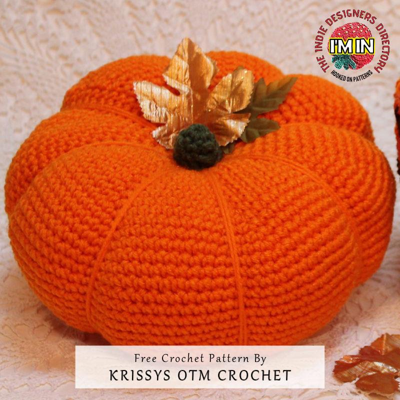 Halloween Pumpkin - Free Crochet Patterns