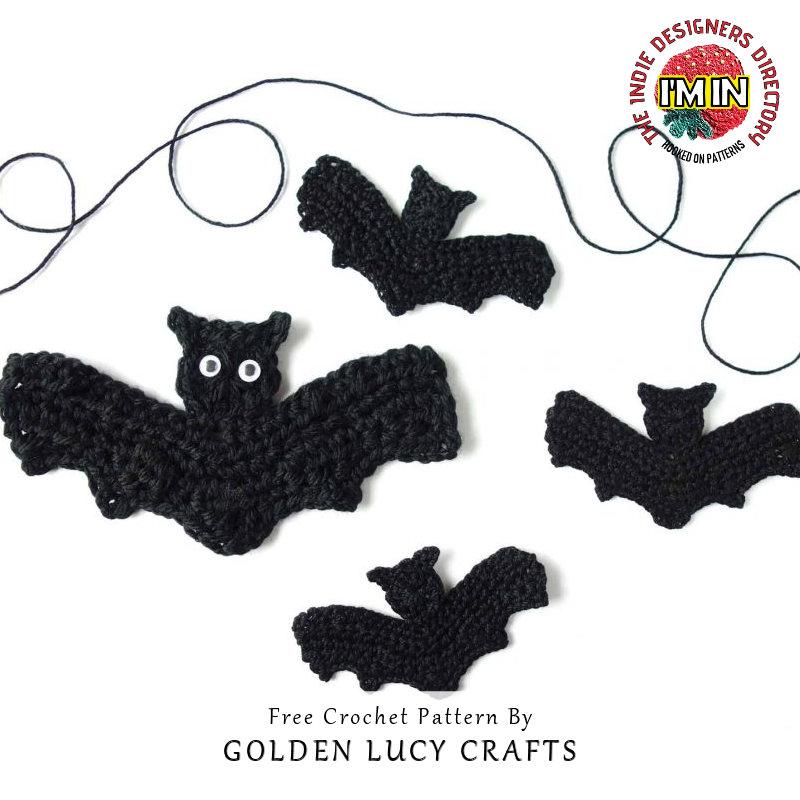 Bat - Halloween Free Crochet Patterns