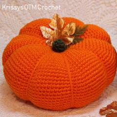 Big Pumpkin Free Crochet Pattern
