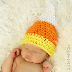 Free Candy Corn Hat Crochet Pattern
