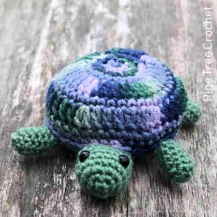 Tammy the Turtle Free Crochet Pattern