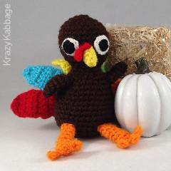 Crochet Turkey Free Crochet Pattern