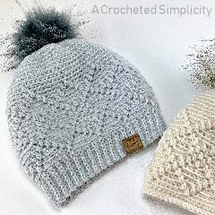 Argyle Beanie & Slouch Free Crochet Pattern