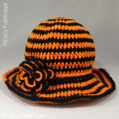 Spooky Spiral Hat Free Crochet Pattern