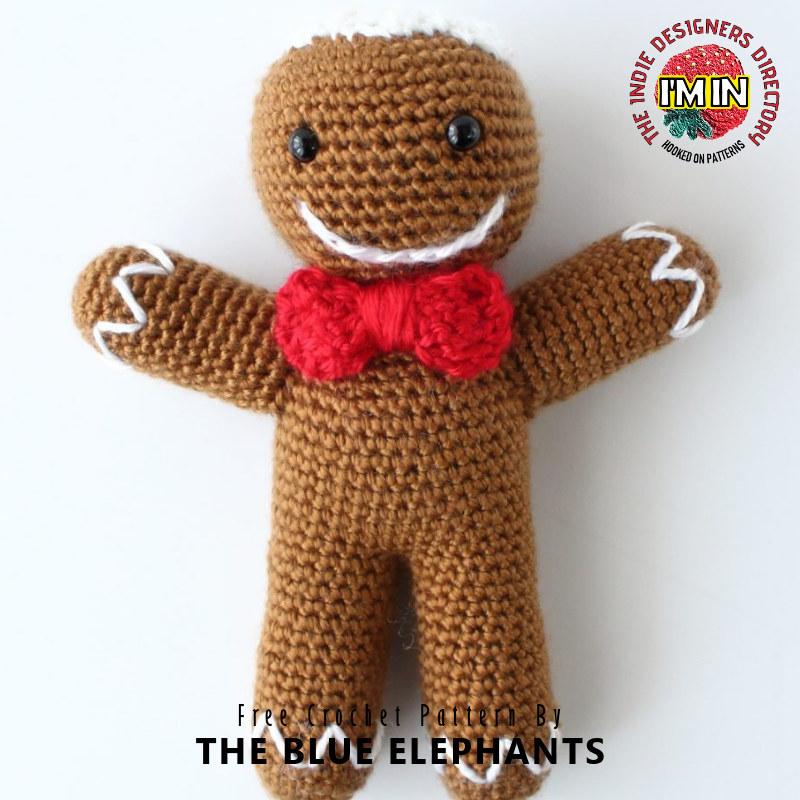 Free Gingerbread Man Christmas Crochet Pattern