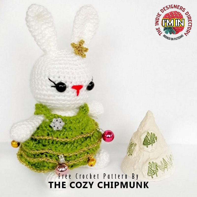 Free Christmas Bunny Crochet Pattern