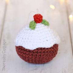 Christmas Pudding Free Crochet Pattern