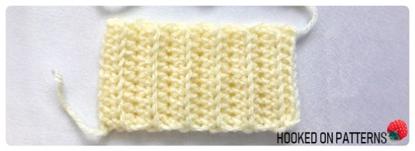 Free Baby Mittens Crochet Pattern - Cuff