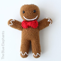 Ronald the Gingerbread Man Free Crochet Pattern