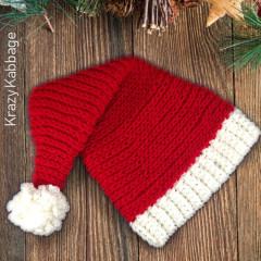 Santa Hat Free Crochet Pattern