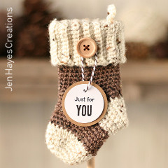 Gift Card Stockings Free Crochet Pattern