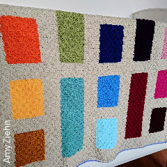 Rainbow Block C2C Blanket Free Crochet Pattern