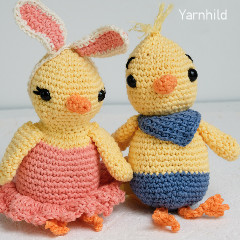 Easter Chicks CAL Free Crochet Pattern