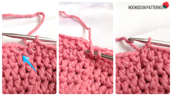 Mason Jar Free Crochet Pattern - Ending each round