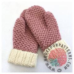 Free Cute & Cosy Mittens Crochet Pattern