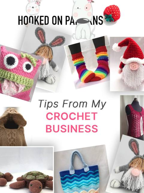 Home Crafts Business Tips From A Crochet Blogger