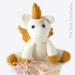 Aurora the Unicorn Free Crochet Pattern