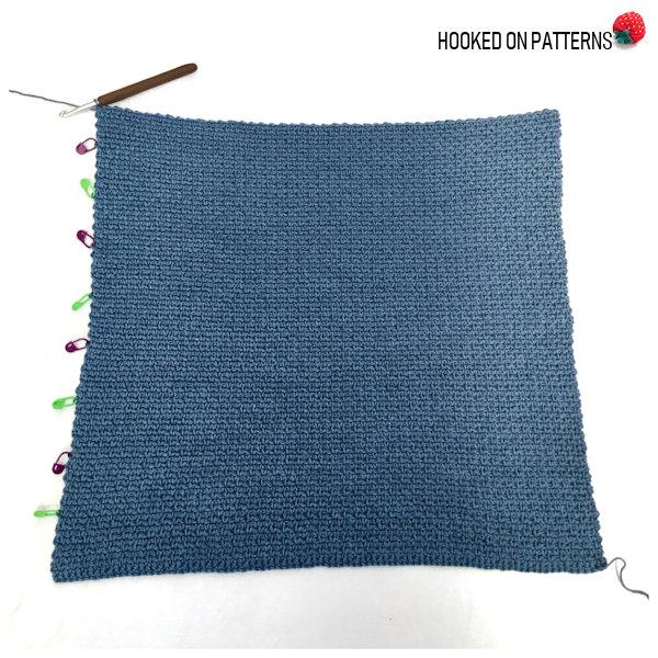 Aviva Mesh Top Tee Crochet Pattern Main Body