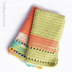 Trevi Hand Towel Free Crochet Pattern
