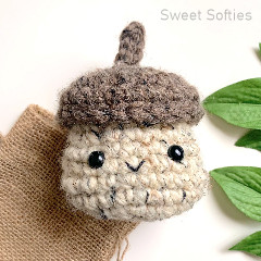 Acorn Box Free Crochet Pattern