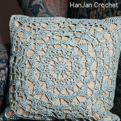 Charleston Lace Cushion Free Crochet Pattern