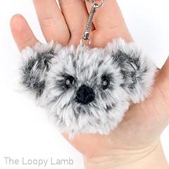 Koala Keychain Free Crochet Pattern