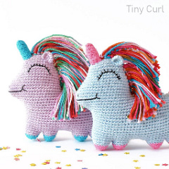 Uni Queen the Amigurumi Unicorn Free Crochet Pattern