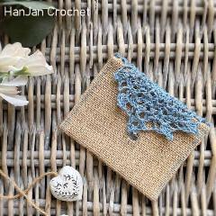 Wedding Favour Pouch Free Crochet Pattern