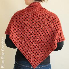 Beatrix Shawl Free Crochet Pattern