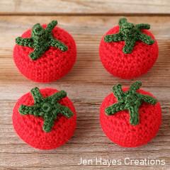 Cottage Garden Tomato Free Crochet Pattern