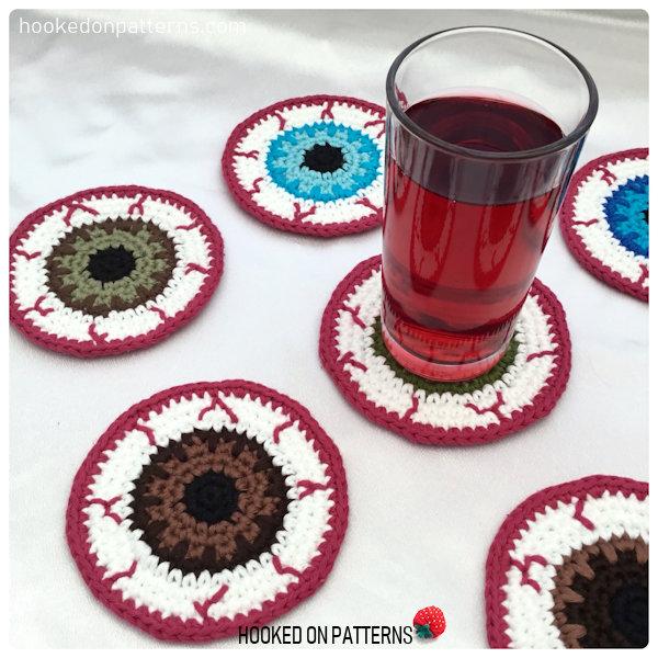 Free Eyeball Coasters