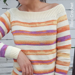 Simple Elegant Sweater Free Crochet Pattern