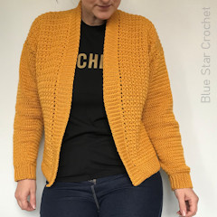The Working Girl Cardigan Free Crochet Pattern