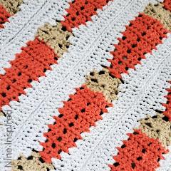 24 Carrot Baby Blanket Free Crochet Pattern
