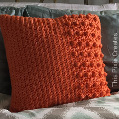 The Burst of Sunshine Pillow Free Crochet Pattern