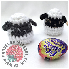 A thumbnail image of the free Easter Lamb Egg cosy crochet pattern