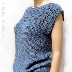 Aviva Summer Top Free Crochet Pattern
