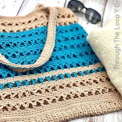 Thumbnail image of the Dockside Bag free crochet pattern