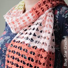 Thumbnail image of the Felidae Crochet Summer Wrap free crochet pattern