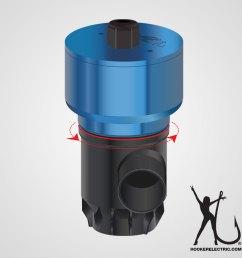 hooker electric bait pump diagram 2500 [ 900 x 900 Pixel ]