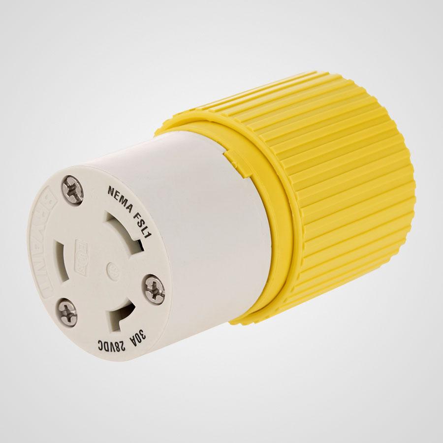 medium resolution of hubbell 30a female plug