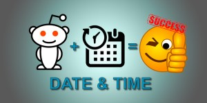 best date and time to post on reddit