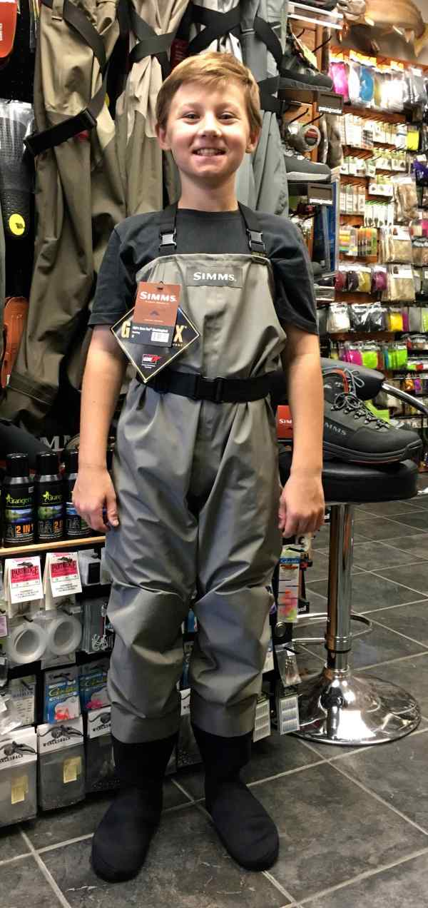 Youth Waders Hook Line And Sinker Guelph' #1 Tackle