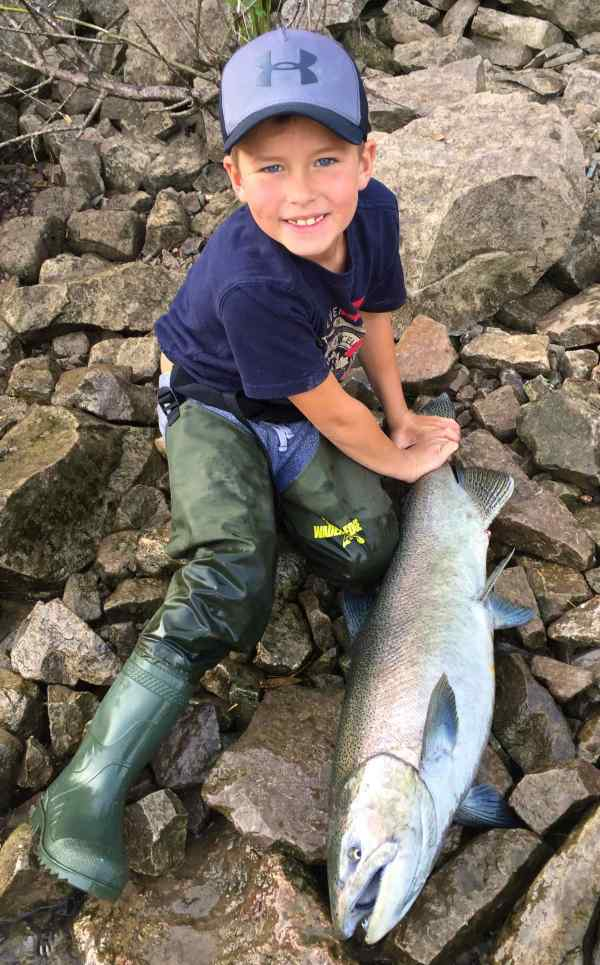Children Youth Hip Waders. - Hook Line And Sinker