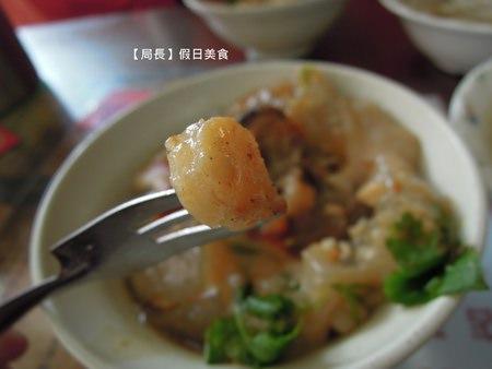 【彰化】『正彰化肉圓』鑽石級的美味!居然把干貝鑲嵌在肉丸上!