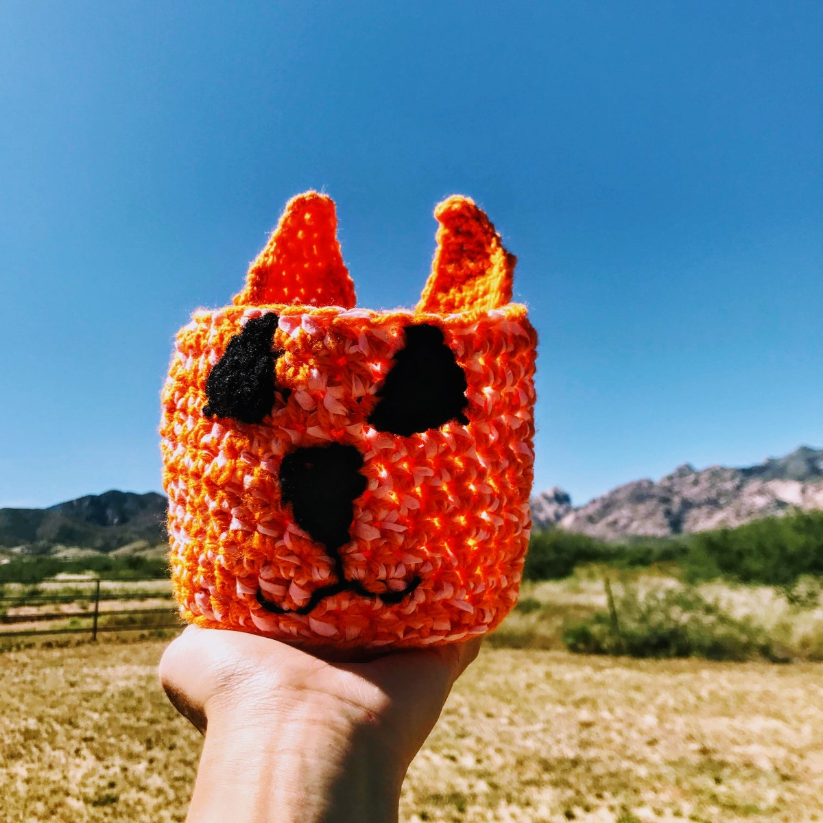Kitty Cat Drawstring Sack - Loot Bag Crochet Pattern & Tutorial ... | 1200x1200
