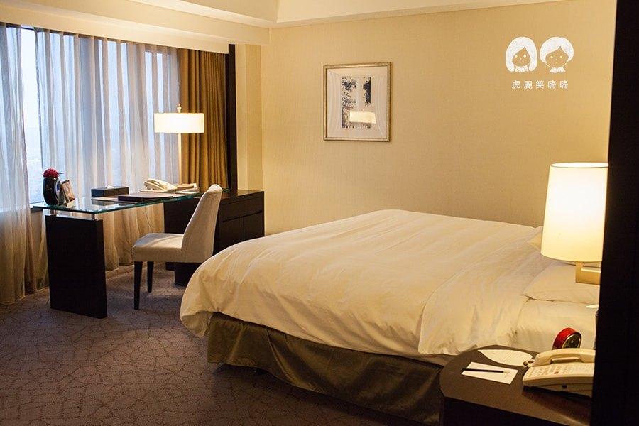 香格里拉遠東國際大飯店(台南住宿)景觀豪華閣!舒適放鬆的旅程