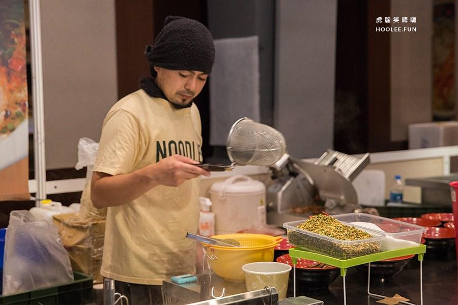 左營 新光三越 日本商品展 五郎家 五郎家高麗菜叉燒拉麵NTD300