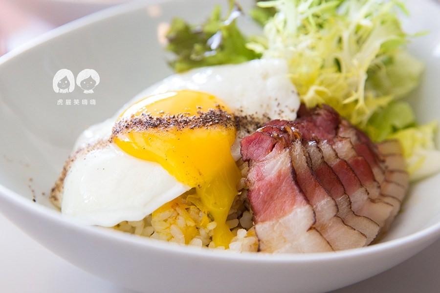 迪波波 藝食館 高雄早午餐 甘蔗燻肉飯 NTD165