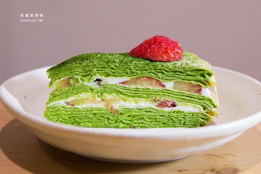 先生 千層蛋糕 小山園抹茶草莓 NTD150